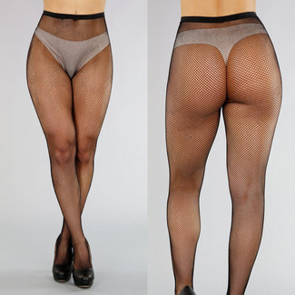 Zwarte Small Fishnet Panty