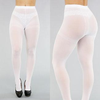 NEW2503 Corrigerende Witte 50 Den Panty