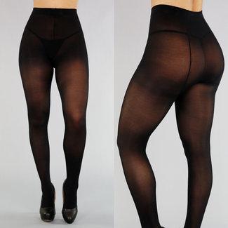 NEW2503 Corrigerende Zwarte 50 Den Panty