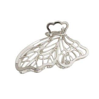 Zilveren Vlinder Haarklem
