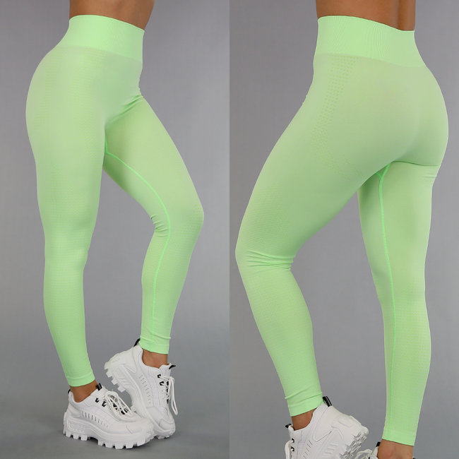 Groene Ultra High Waist Sportlegging