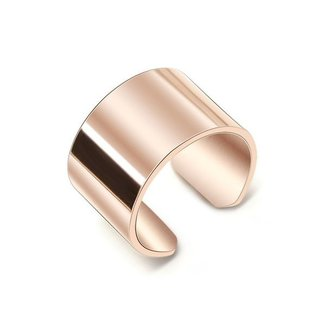 !OP=OP. Grove Stainless Steel Ring Rosé