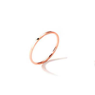 !OP=OP. Smalle Basic Ring Rosé