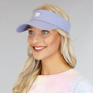 OP=OP Verstelbare Lavendel Zonneklep