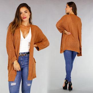 Camel Halflang Comfy Vest