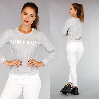 Grijze Homebody Sweater