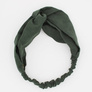 NEW2309 Groene Suède Haarband