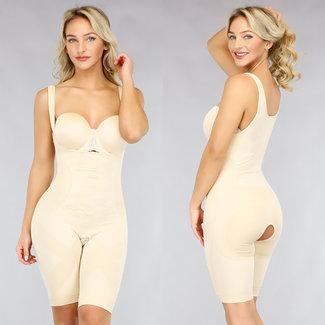 NEW0212 Corrigerende Nude Body met Pijpjes