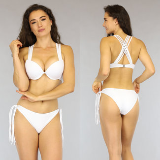 OP=OP Witte Strappy Beugelbikini