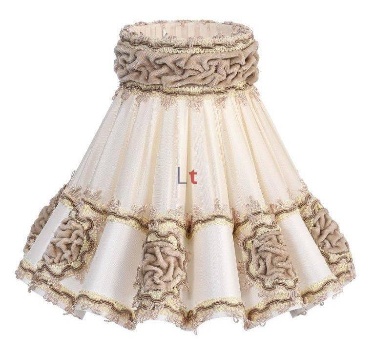 Rokkap Klassiek Rozet Lever 55cm
