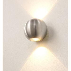 Wandlamp LED Denver Aluminium IP54