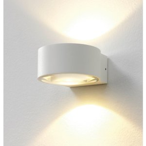 Artdelight Wandlamp LED Hudson WIT IP54