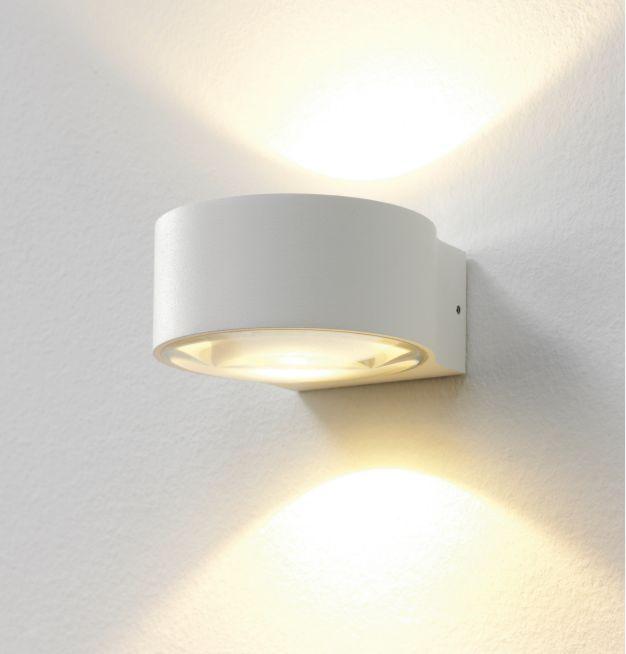 Artdelight Wandlamp LED Hudson WIT IP54