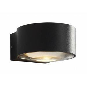 Wandlamp LED Hudson ZWART IP54