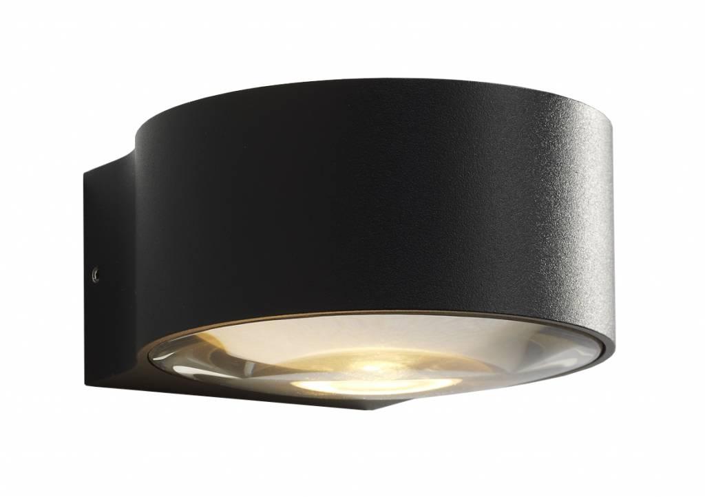 Artdelight Wandlamp LED Hudson ZWART IP54