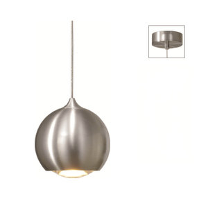 Artdelight Hanglamp LED Denver Aluminium 10cm Ø