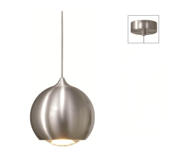 Artdelight Hanglamp LED Denver Aluminium 10cm Ø