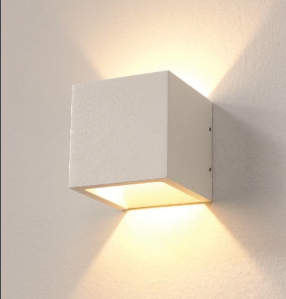 Wandlamp LED Cube WIT IP54