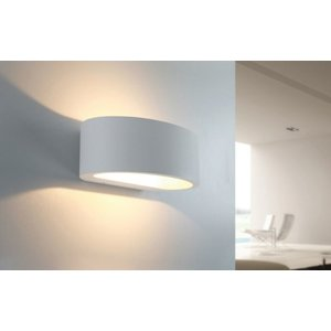 Artdelight Wandlamp Sharp Led Wit IP54