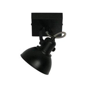 Spot Santo GU-10 LED 1 lichts Zwart