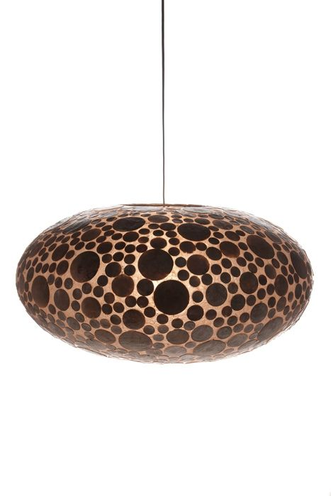 Hanglamp Coin Gold 60cm ufo