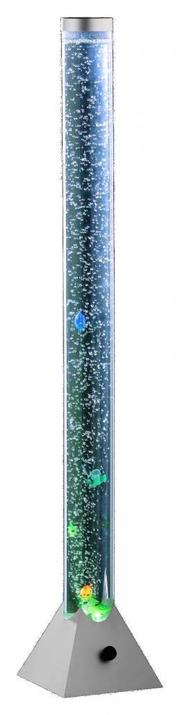 Vloerlamp BubbelBuis Water met Visjes