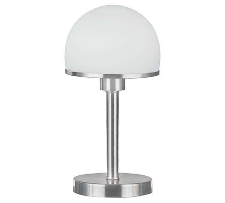 Tafellamp Bauhaus staal met Touch