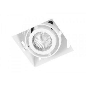 Inbouwspot Vierkant Wit Trimless GU10