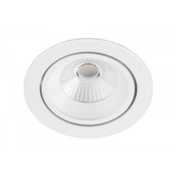 Inbouwspot Rond Wit 10Watt Led IP44