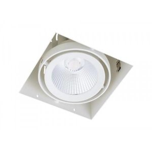 Inbouwspot Vierkant Wit Trimless 15Watt Led