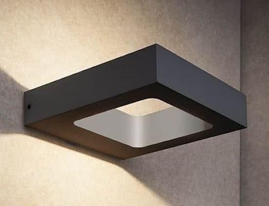 Buitenlamp Carre Zwart Led IP54