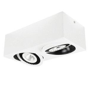 Spot Box Wit Led 2 Lichts