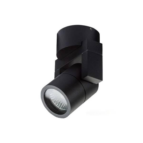 Artdelight Wandlamp Single Zwart IP54