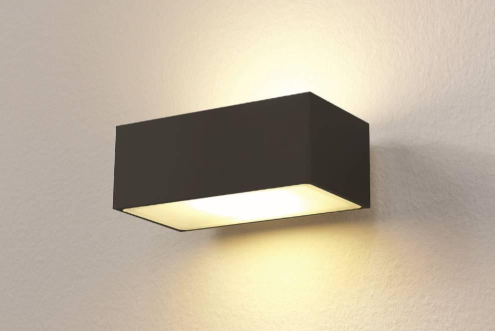 Artdelight Wandlamp LED Eindhoven 100 Zwart IP54