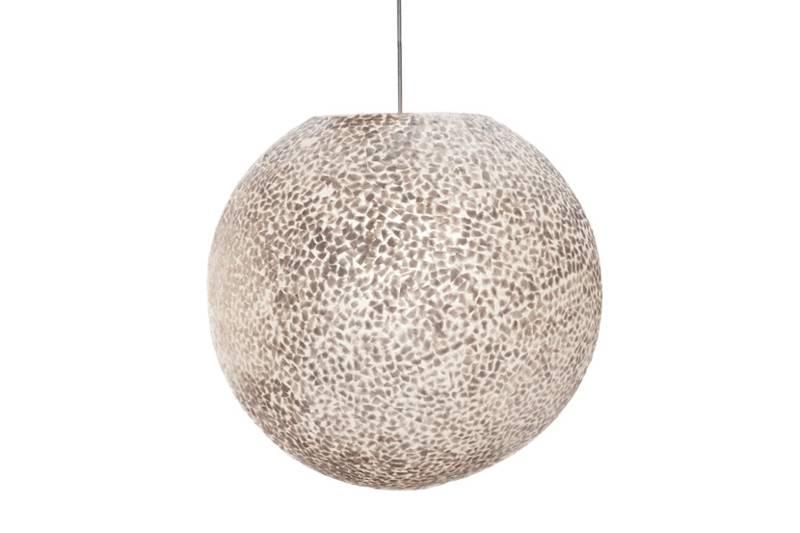 Hanglamp Wangi White Ball 40cm Ø