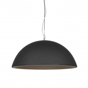 Formadri Hanglamp Basic Dome 90 Black