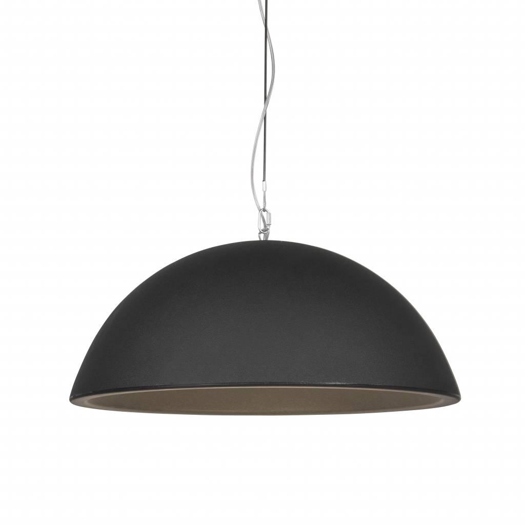Hanglamp Basic Dome 90 Black