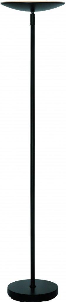 Vloerlamp Up Led Zwart incl. Dimmer