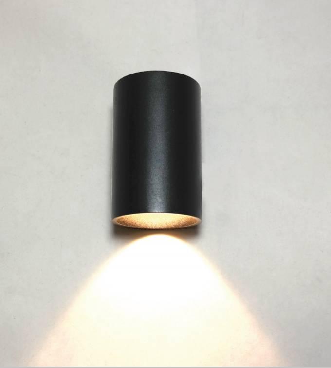 Artdelight Wandlamp Brody II Zwart Led IP54