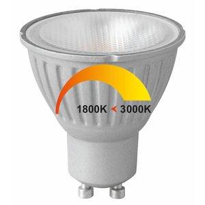 GU10 6Watt LED-lamp Dim to Warm*