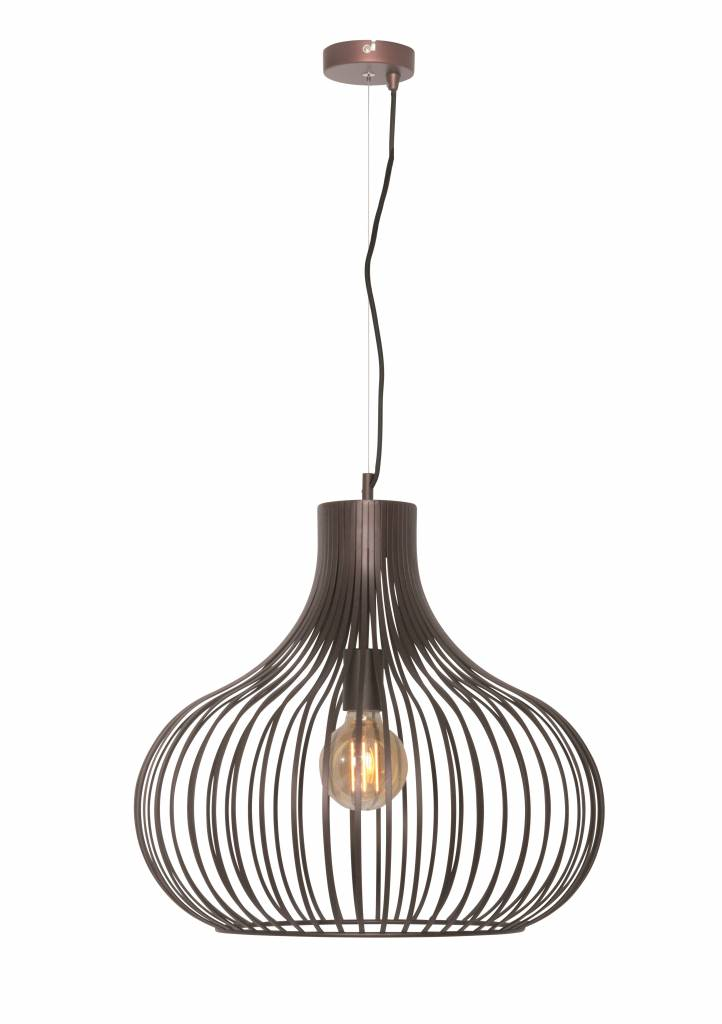 Hanglamp Aglio Roest Bruin 48cm