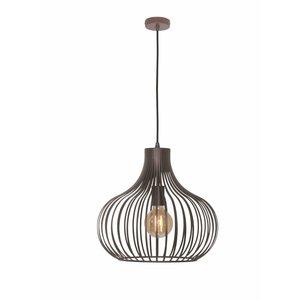 Hanglamp Aglio Roest Bruin 38cm