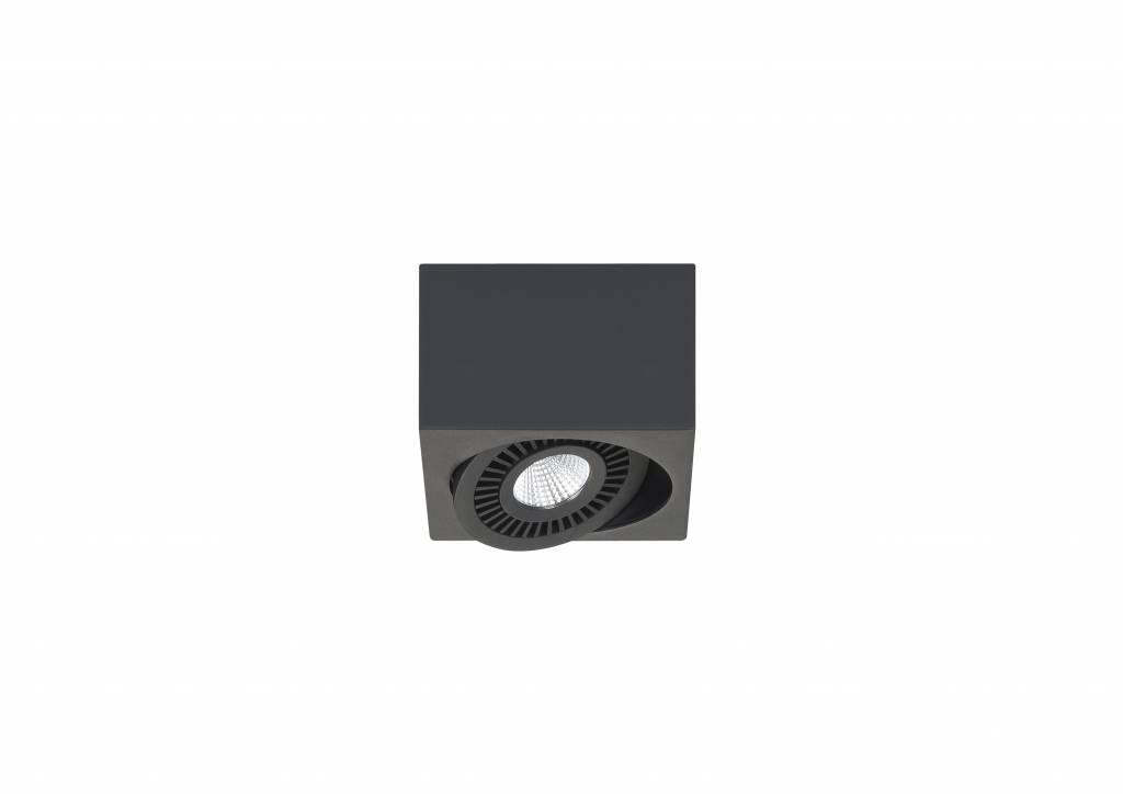 Spot Box Zwart Led 1 Lichts