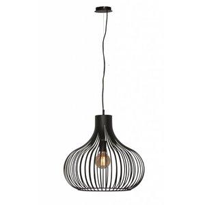 Hanglamp Aglio Mat Zwart 48cm