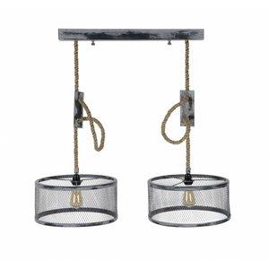 Hanglamp Cody 2 Lichts 40cm