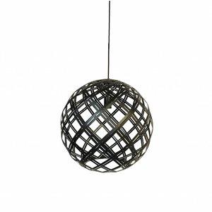 Hanglamp Emma Zwart 40cm