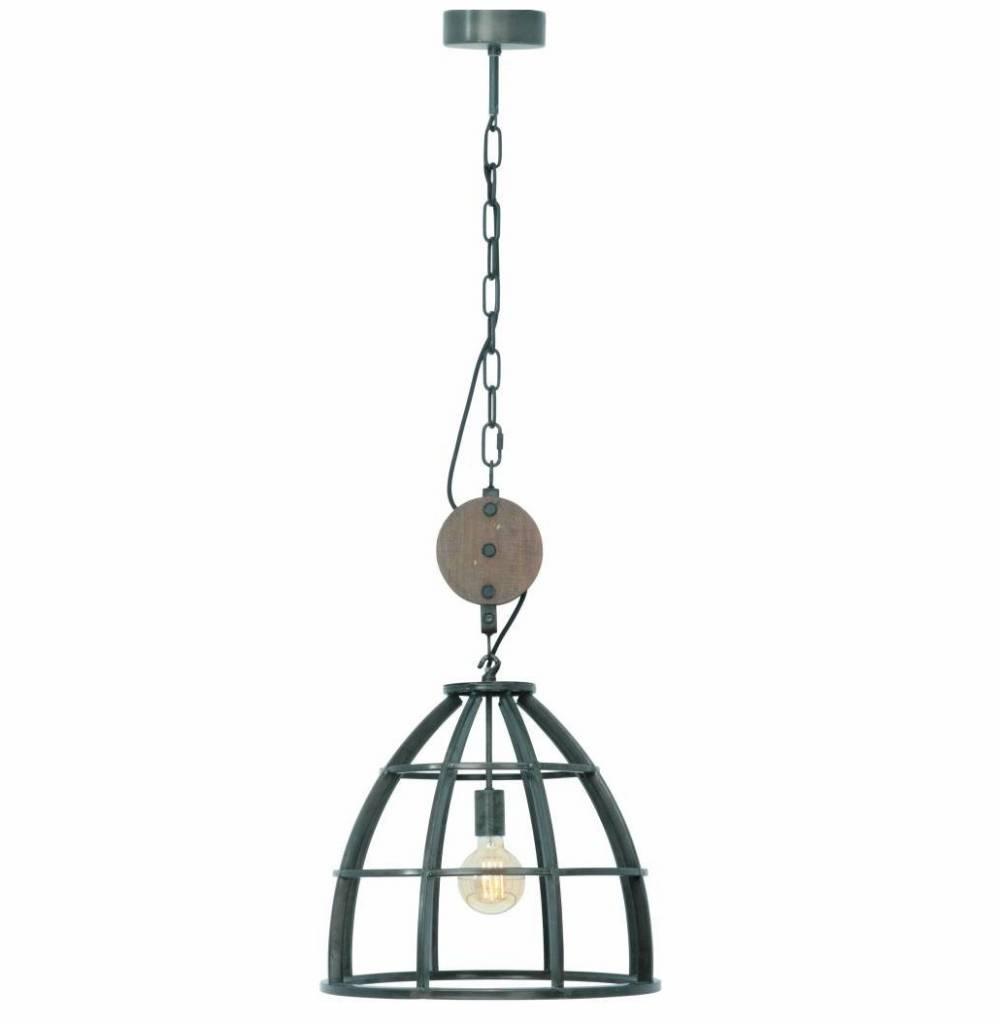 Hanglamp Vintage Black Steel 47cm