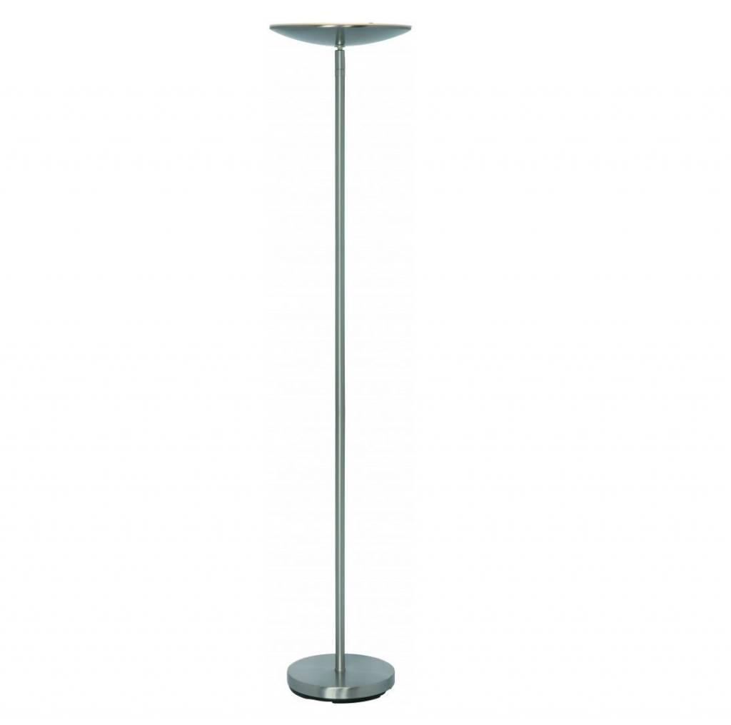 Vloerlamp Up Led RVS incl. Dimmer