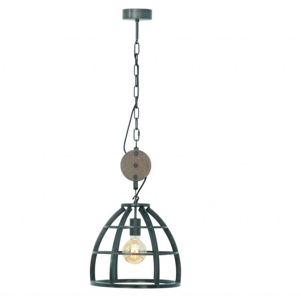 Hanglamp Vintage Black Steel 35cm