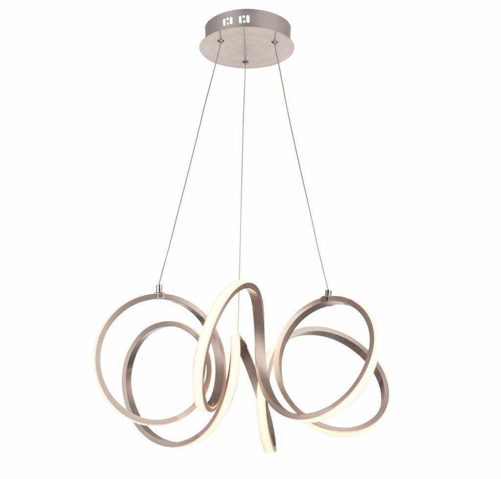 Hanglamp Raffinato RVS Led 60cm